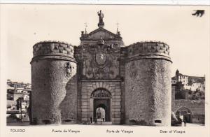 Spain Toledo Puerta de Visagra Real Photo