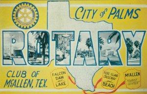 MC ALLEN, Texas, 40-60s; Rotary Club, Views in Rotary