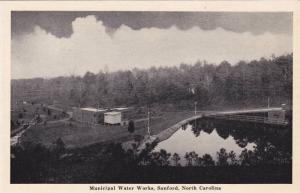 Municipal Water Works, Sanford, North Carolina, 1910-1920s