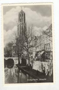 RP, Partial View, Oudegracht, Utrecht, Netherlands, 1940-50s
