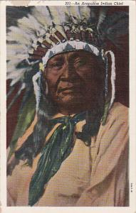 Arapaho Indian Chief , 30-40s