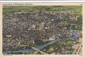 Delaware Wilmington Aerial View