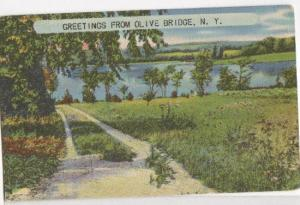Greetings From Mt Olive NY 1952