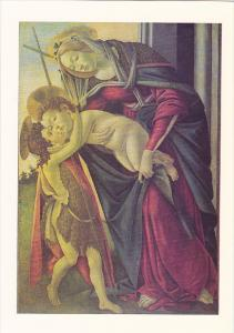 Madonna and Child with the infant St John Sandro Botticelli Barber Institute ...
