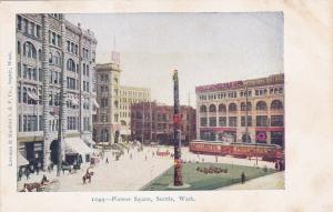 Pioneer Square , SEATTLE , Washington , pre-1907