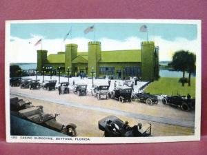 Postcard FL Daytona Casino Burgoyne