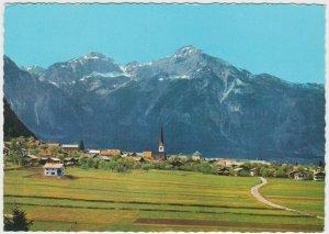 Austria Schlitters Zillerta Tirol 1976 Postcard
