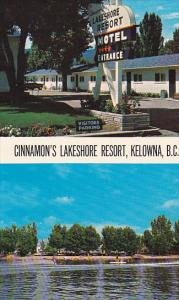 2-views, Cinnamon´s Lakeshore Resort,  lake Okanagan,  Kelowna,  B.C.,  Cana...