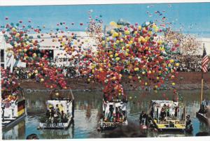 SPOKANE, Washington, Floats of Nations and clusters of balloons, Washington S...