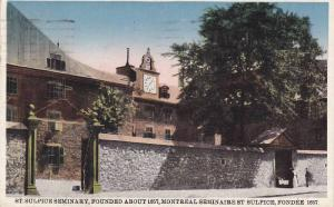 The St. Sulpice Seminary,  Montreal,  Quebec,  Canada,   PU_1928