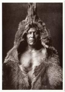 Bear's Belly Arikara Medicine Man Native American Modern Postcard