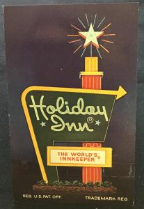 Postcard Unused Holiday Inn Meadville PA LB