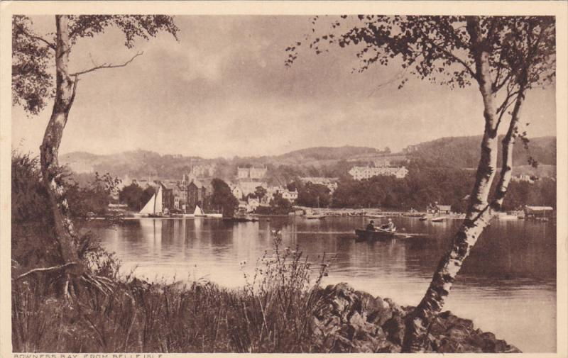 BOWNESS BAY from Belle Isle, Cumbria, England, United Kingdom, 00-10s