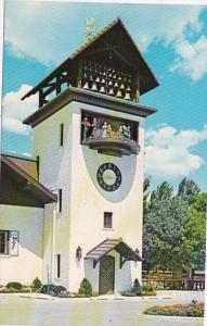 Michigan Frankenmuth Bavarian Inn Glockenspiel Tower