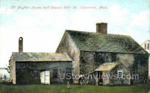 Old Mayhew House, 1676-99 Edgartown MA 1912