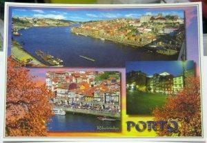 Portugal Porto Estacao de Sao Bento Avenida dos Aliados etc - unposted