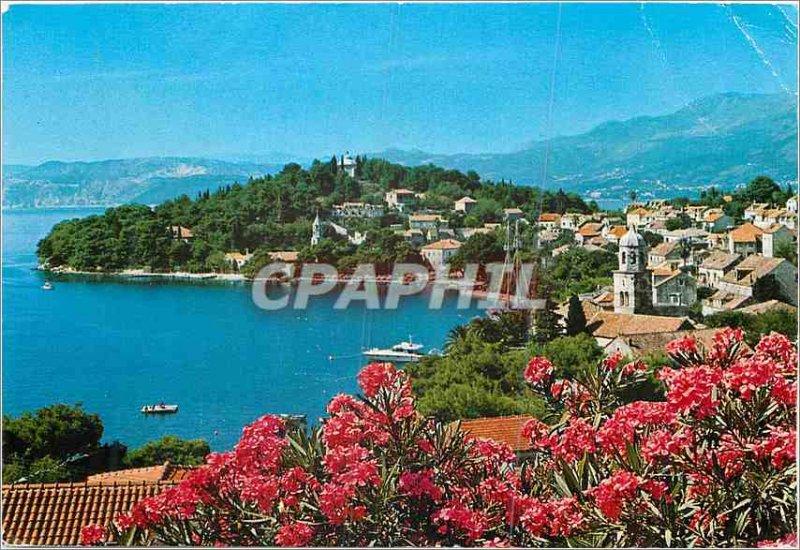 Postcard Modern Cavtat breakfast Marina lucica