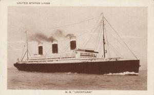 Ocean Liner S. S. LEVIATHAN , 00-10s #2