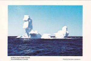 Iceburg Near Funk Island, Newfoundland, Canada, PU-1992