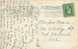 Hot Springs AR~Hale Baths Where We Are~Omar Wilson 1924 Postcard