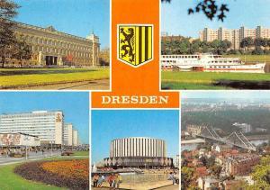 Dresden Bezirksgericht Kaethe Kollwitz Ufer, Blick zum Blauen Wunder Strasse