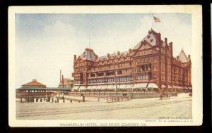 Old Point Comfort, Virginia/VA Postcard, Chamberlin Hotel