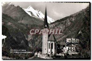 Modern Postcard Heiligenblut mit Grossglockner