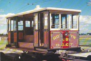New Zealand Christchurch Dunedin City Corporation Tramways Cable Car No 95