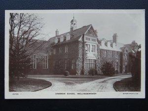 Northamptonshire WELLINGBOROUGH GRAMMAR SCHOOL - Old RP Postcard by J. Lees