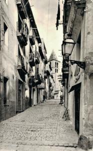 Spain Mallorca Palma Calle Palmesana Barrio Santa Cruz RPPC 01.78