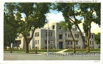 Carlsbad, New Mexico USA Eddy County Court House  Carlsbad, New Mexico USA