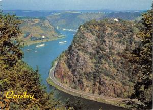 GG13891 Loreley Schiff River Boats Panorama Bateaux