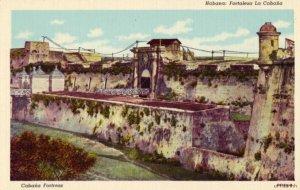 HAVANA CUBA - FORTALEZA LA CABANA fortress