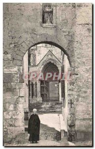 Old Postcard Old Chartres Rue Saint Yves