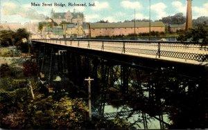 Indiana Richmond Main Street Bridge Curteich