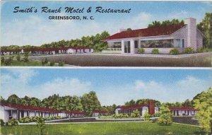 North Carolina Greensboro Smiths Ranch Motel & Restaurant