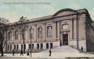 TORONTO, Ontario, Canada, 1900-1910s; Carneigie Library, College Street