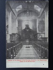 Kent DEPTFORD St Nicholas The Westminster Abbey of the British Navy Old Postcard