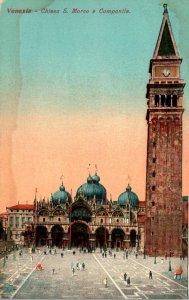 Italy Venezia Chiesa San Marco e Campanile