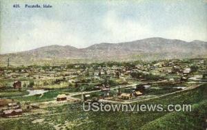 Pocatello, ID, Post Cards;   Pocatello, Idaho Pocatello ID Unused