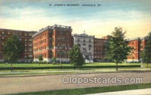 St Joseph's Infirmary Louisville, KY, USA Postcard Post Cards Old Vintag...
