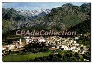 Modern Postcard Corsica Calenzana Vue Generale Aerienne