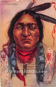 Chief Sitting Bull Postal Used Unknown