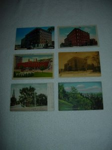 Bangor ME - Lot Of 6 Great Vintage Postcards - x0564