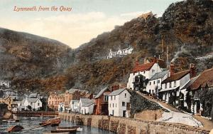 Lynmouth United Kingdom, Great Britain, England From the Quay Lynmouth From t...