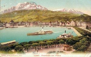 Switzerland - Luzern Promenade und Pilatus 03.05