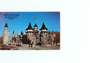 Vintage Postcard Castle Village Shops Ltd Midland Ontario Canada # 2996