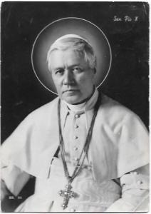 Italy, Rome  Pope Pius X - 1954