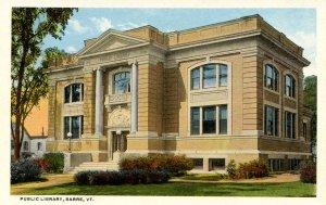 VT - Barre. Public Library