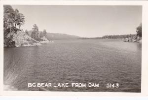 RP:  BIG BEAR LAKE , California , 30s-40s; View from Dam # 2